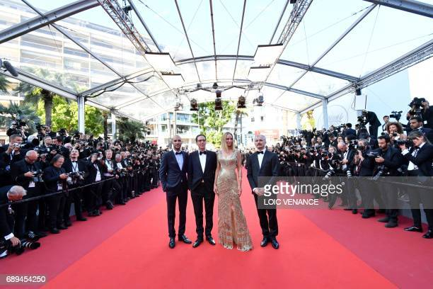 Egyptian director and member of the Un Certain Regard jury Mohamed Diab French actor and member of the Un Certain Regard jury Reda Kateb US actress...
