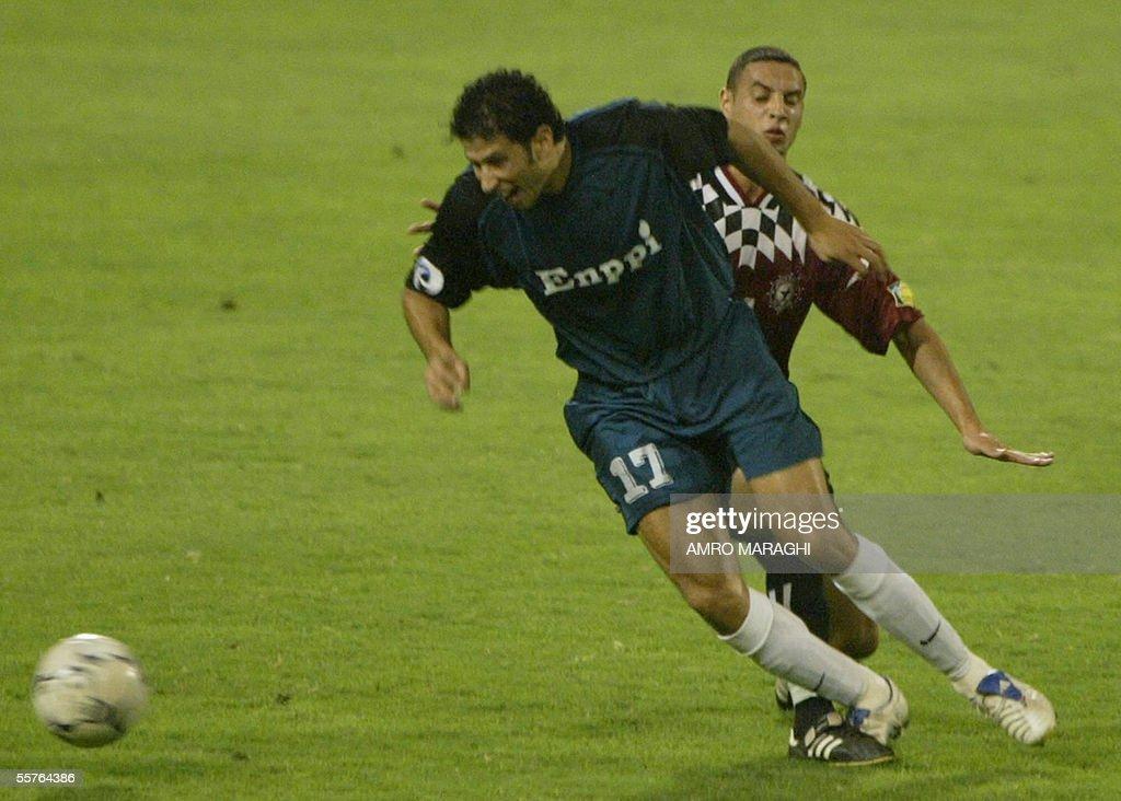 Egyptian Enppi Club Player Magdi Abdel A News Photo