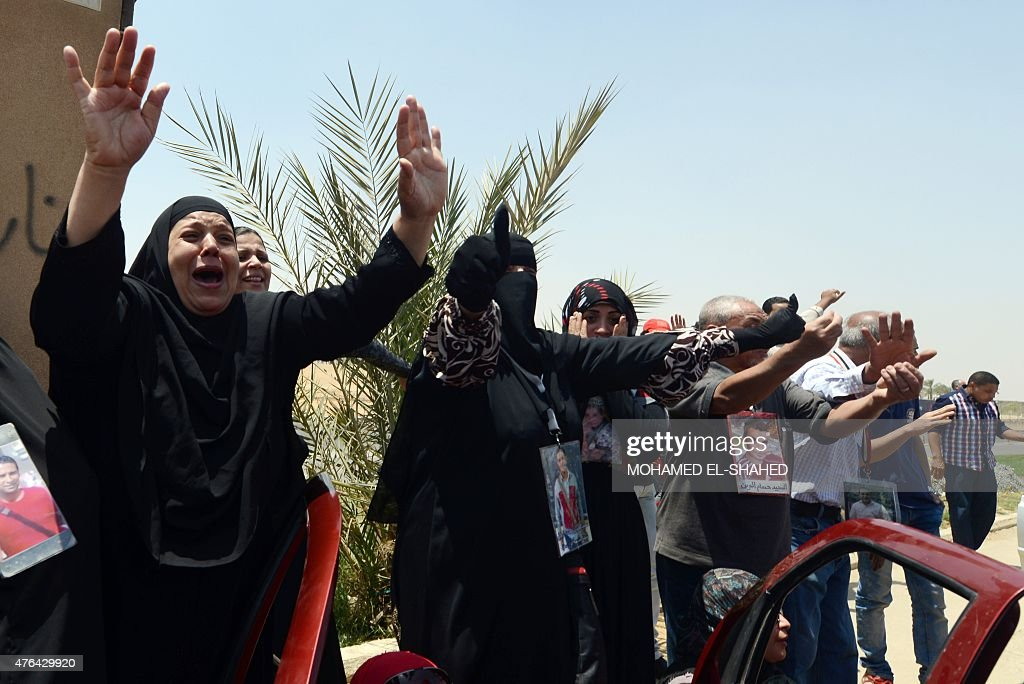 EGYPT-JUSTICE-TRIAL-UNREST-FBL : News Photo