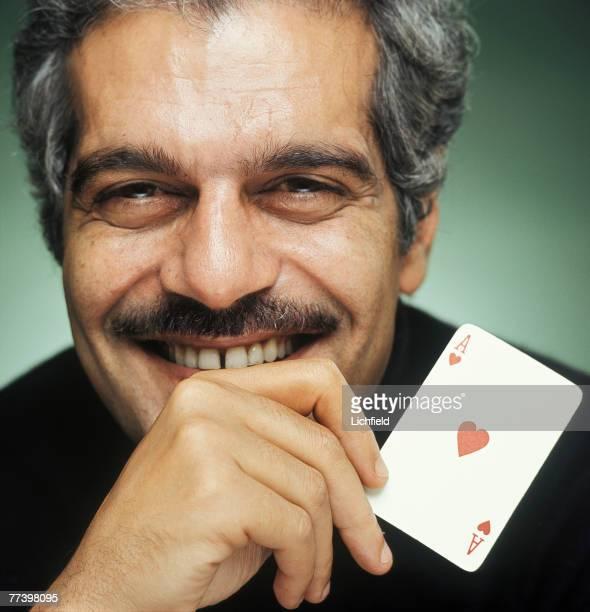 Egyptian film actor Omar Sharif on 11th September 1973