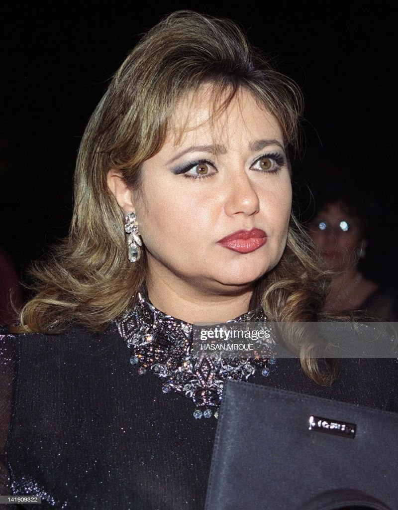 Egyptian film star Leila Elwi talks to the press at the opening of the 22nd  Cairo