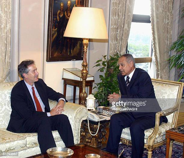 Egyptian Foreign Minister Ahmad Abul Gheit meets with US Assistant Secretary of State for Near Eastern Affairs William Burns 12 September 2004 in...