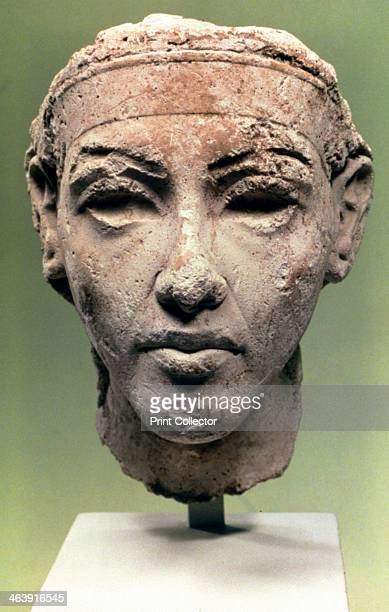 Egyptian Head Amarna Period 1350 BC Berlin Museum Egyptian Antiquities