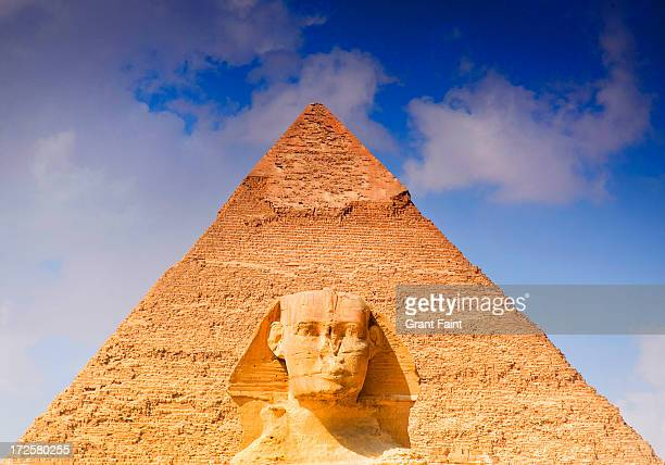 egyptian icons - the sphinx stock pictures, royalty-free photos & images