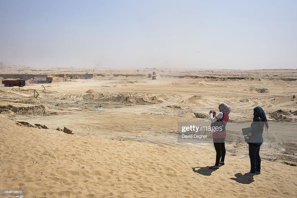 Suez Canal Expansion : News Photo