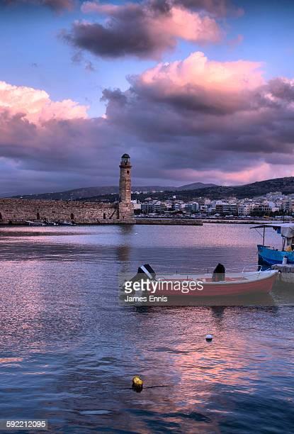 Egyptian Lighthouse, Venetian harbour, Rethymnon