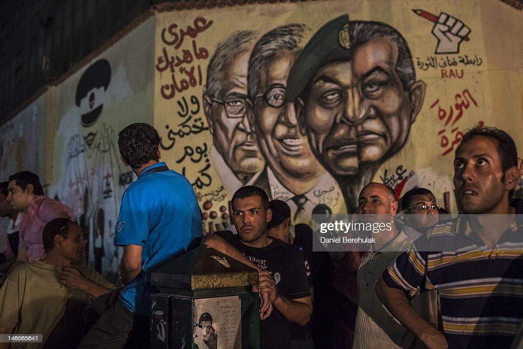 Egypt Elects A New President : News Photo