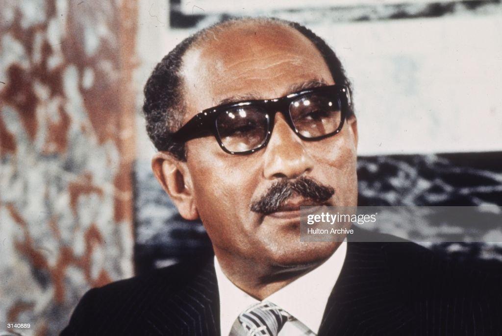 Anwar Al-Sadat : News Photo