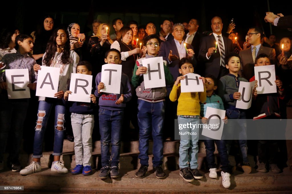 Earth Hour Environmental Campaign in Cairo