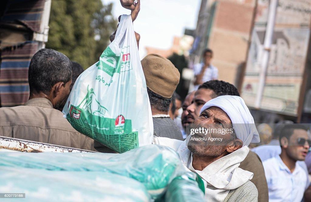 Economic Crisis in Egypt : News Photo