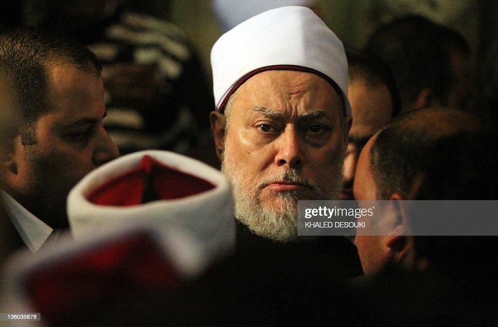 Egyptian Mufti Ali Gomaa attends the fun : News Photo