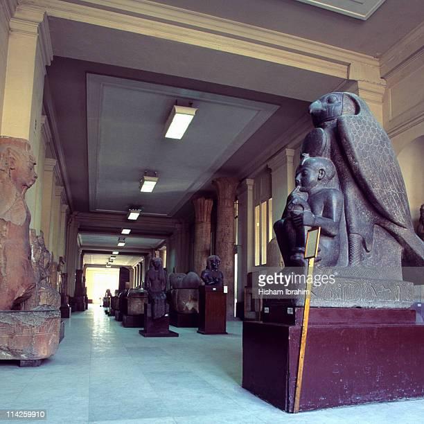 Egyptian Museum, Interior - Cairo, Egypt