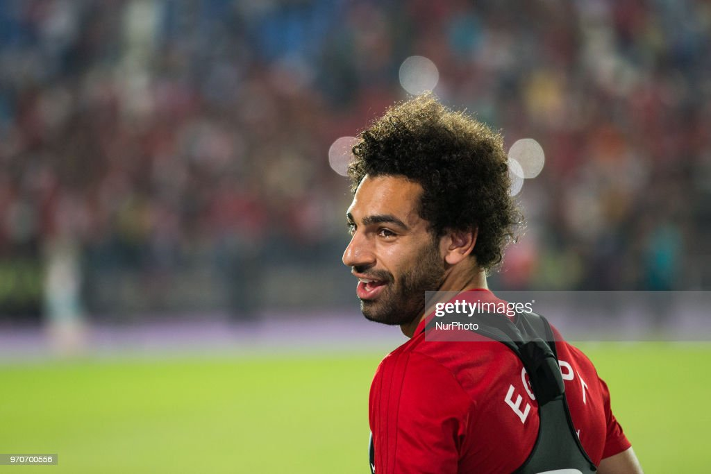 Egyptian national soccer team striker Mohamed Salah attends his team's training session at Cairo international stadium in Cairo, Egypt, 09 June 2018. The Egyptian national soccer team prepares for the FIFA World Cup 2018 taking place in Russia from 14 June to 15 July 2018.