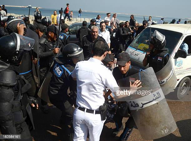 Egyptian police detain a political activists and supporter of 28yearold blogger Khaled Said who died following police questioning before the...