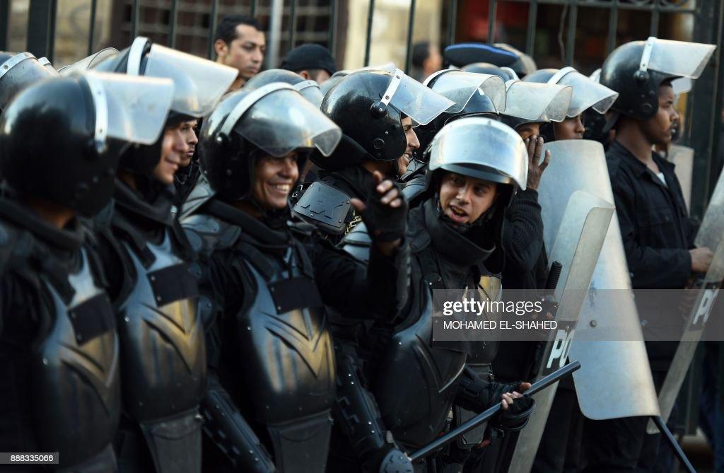 EGYPT-PALESTINIAN-ISRAEL-US-CONFLICT-JERUSALEM : News Photo