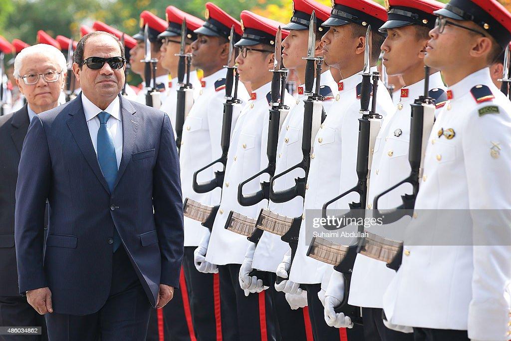 Egyptian President Abdul Fattah Al-Sisi Visits Singapore - Day 2
