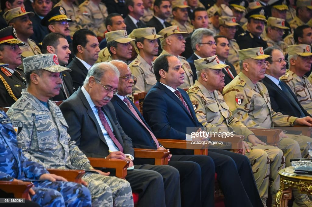 Counter Terrorism and National Will titled symposium in Egypt : News Photo