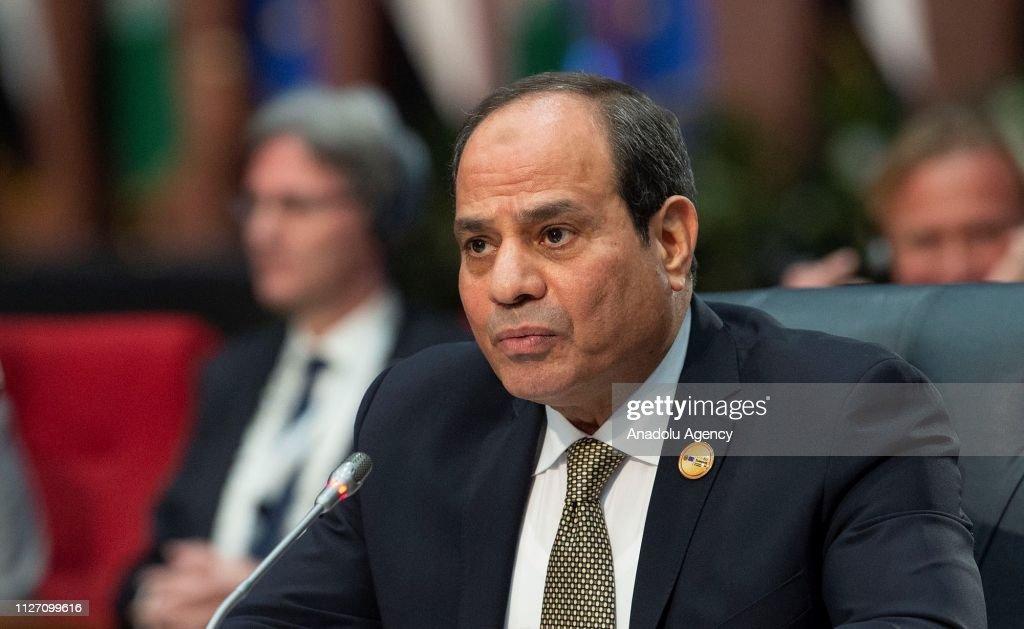EU-Arab League summit in Egypt : News Photo