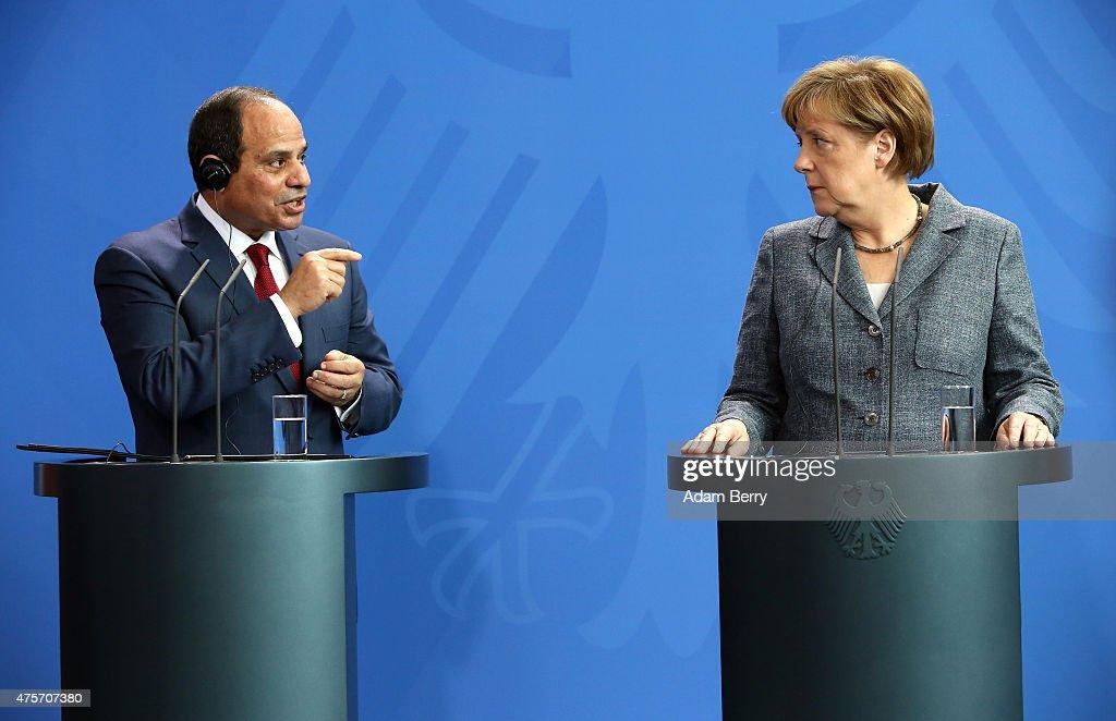 Egyptian President al-Sisi Visits Berlin