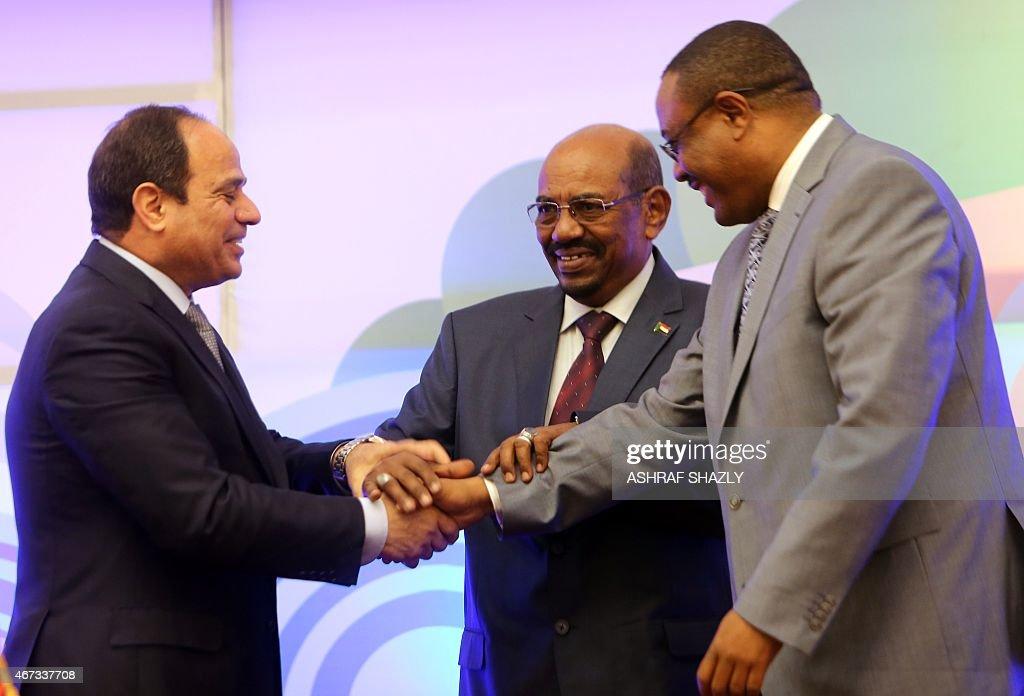 SUDAN-EGYPT-EHIOPIA-DIPLOMACY-WATER : News Photo