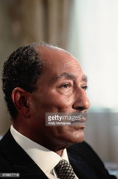 Egyptian President Anwar elSadat was in Washington for consultations with President Jimmy Carter