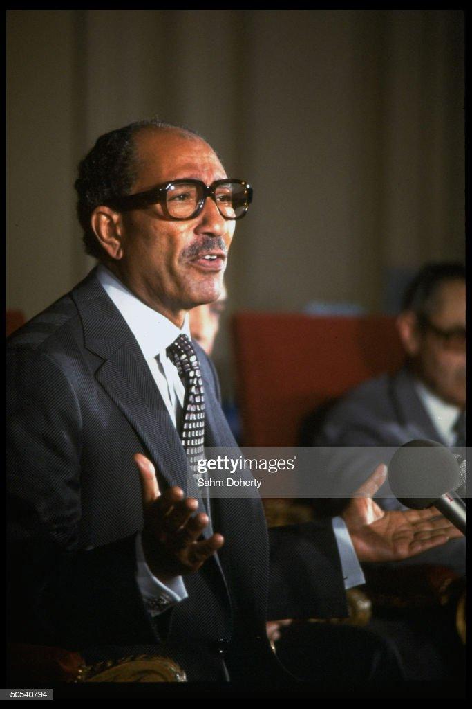 Anwar Sadat : Fotografía de noticias