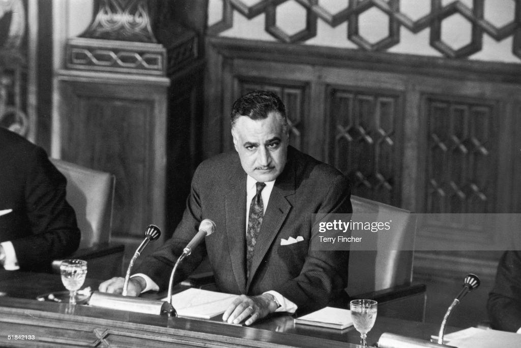 Gamal Abdel Nasser : News Photo