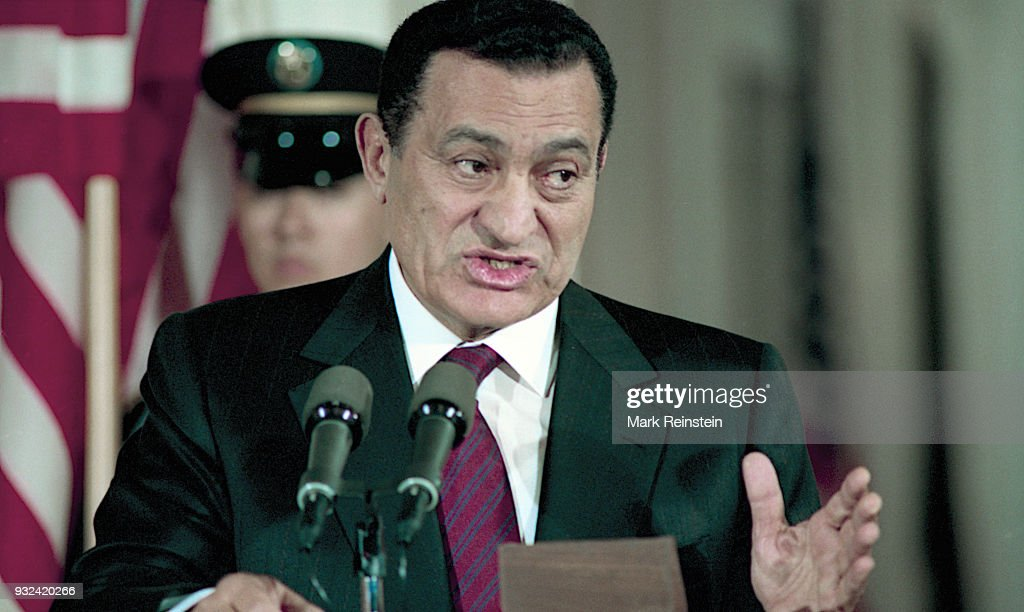 President Mubarak At Press Conference