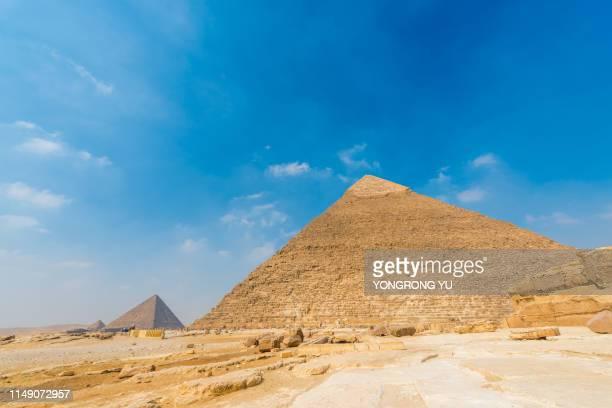 egyptian pyramids - ピラミッド ストックフォトと画像