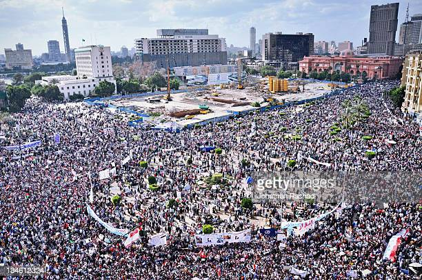 egyptian revolution - tahrir square - 8 april 2011 - tahrir square cairo stock pictures, royalty-free photos & images