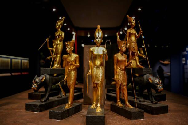 ESP: 'Tutankhamon: La Tumba Y Sus Tesoros' Exhibition Reopening At IFEMA