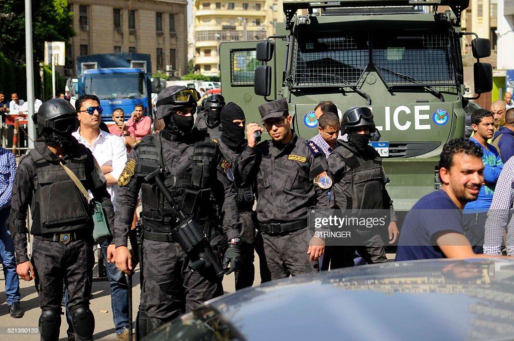 EGYPT-SAUDI-DEMO : News Photo