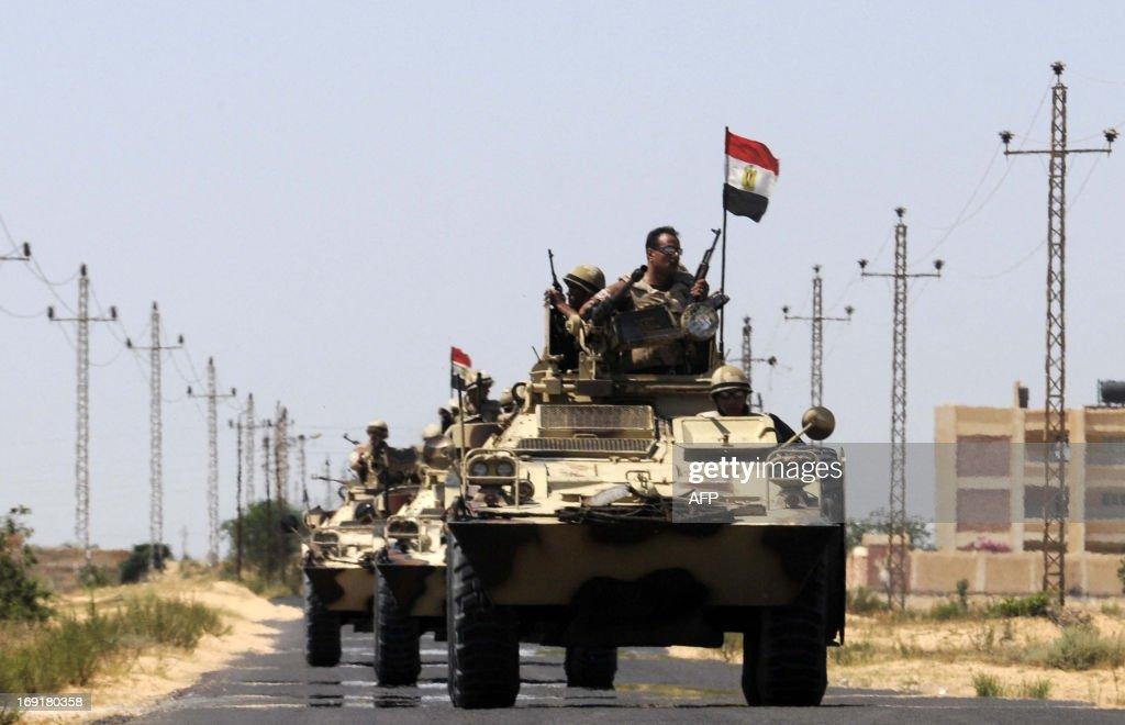 EGYPT-PALESTINIAN-UNREST-SINAI-KIDNAP : News Photo