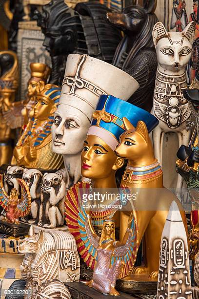 egyptian souvenirs - nefertiti stock pictures, royalty-free photos & images