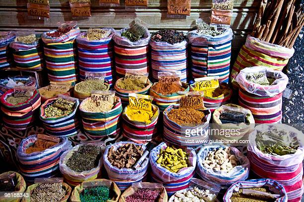 Egyptian spices in the market