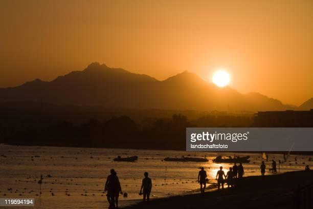 Ägyptische Sonnenuntergang