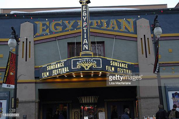 Egyptian Theatre during 2005 Sundance Film Festival - Atmosphere - Day 8 at Park City in Park City, Utah, United States.