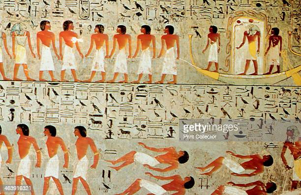 Egyptian Tomb Procession of the Crown Thebes Egypt