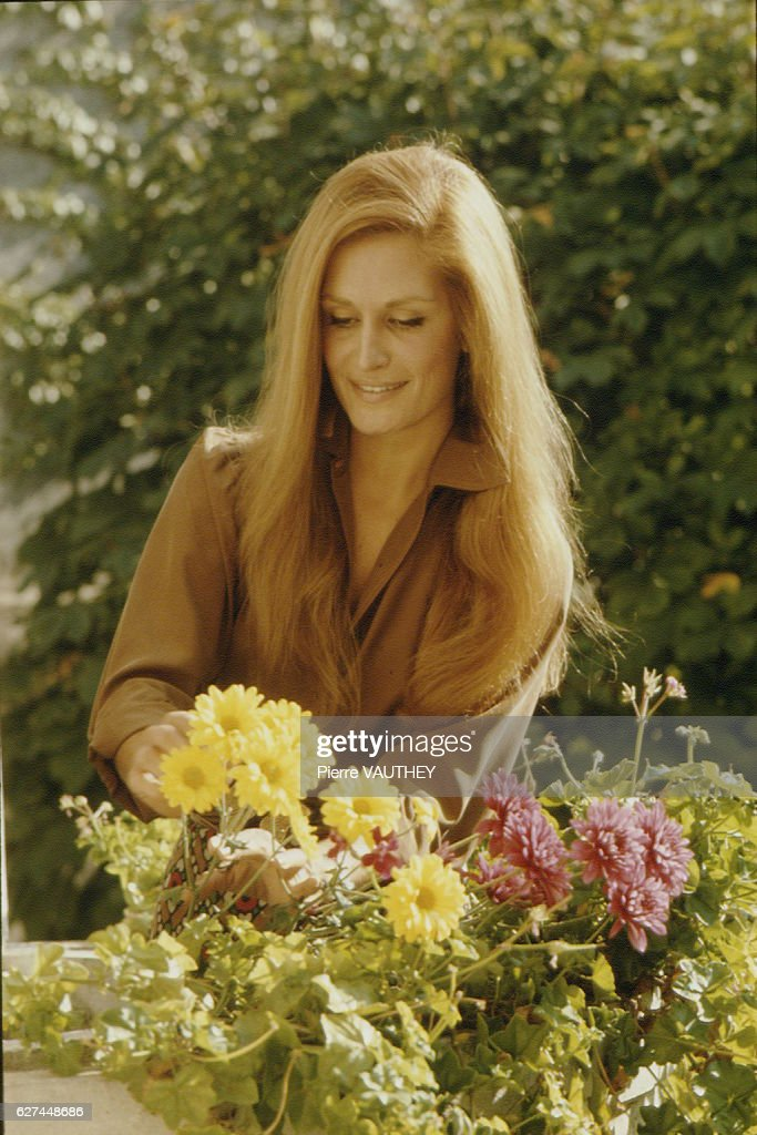 Singer Dalida in Montmartre : News Photo