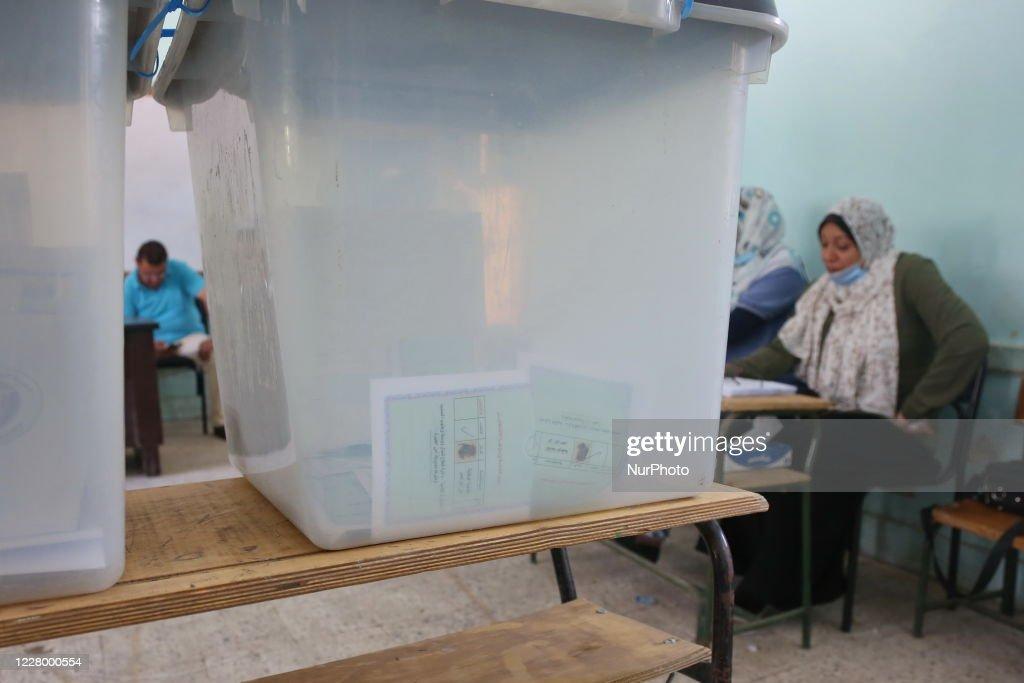 Senate Elections Vote In Egypt : ニュース写真