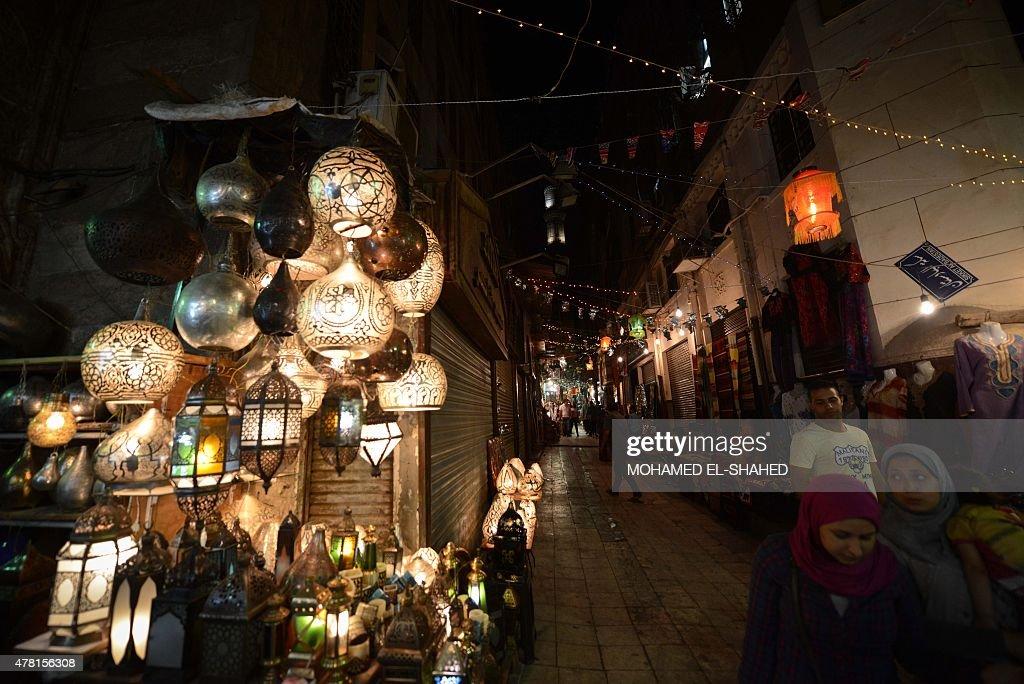 EGYPT-RELIGION-ISLAM-RAMADAN : News Photo
