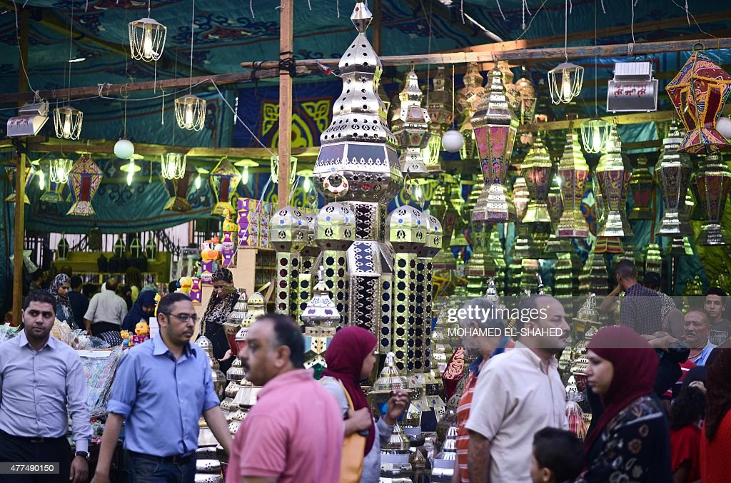 EGYPT-RELIGION-ISLAM-RAMADAN : News Photo