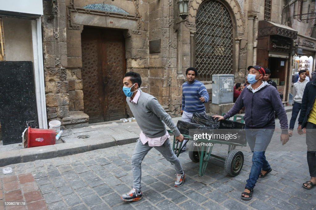 Coronavirus Outbreak Egypt : News Photo