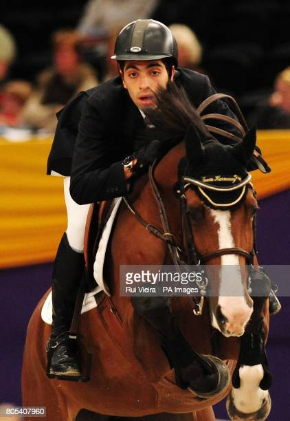 Egypt's Abdel Said on Pablis during The Dick Turpin Stakes during the Horse of the Year Show 2009 at the NEC in Birmingham