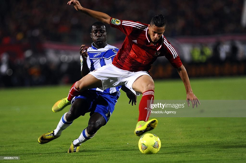 CAF Confederation Cup: Al-Ahly vs Sewe Sport : News Photo
