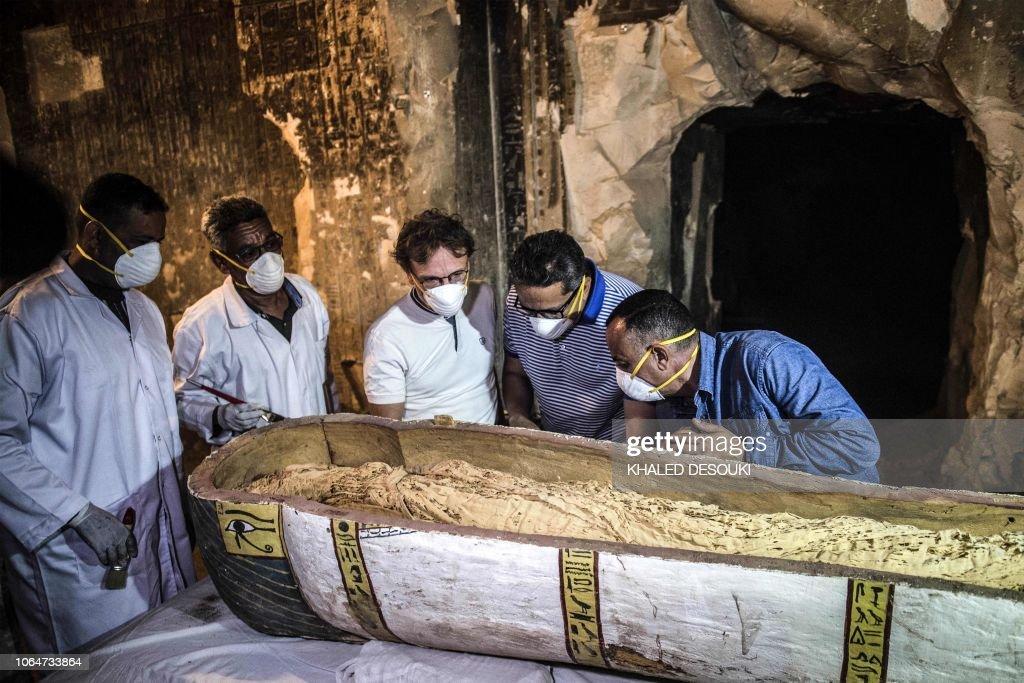 EGYPT-ARCHAEOLOGY-HERITAGE-HISTORY : News Photo