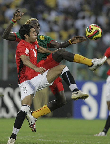 Egypts Hosny Abd Rabou L Fights For T