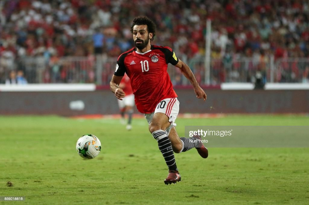 Egypt's Mohamed Salah in action during their World Cup 2018 Africa qualifying match between Egypt and Congo at the Borg el-Arab stadium in Alexandria on October 8, 2017.