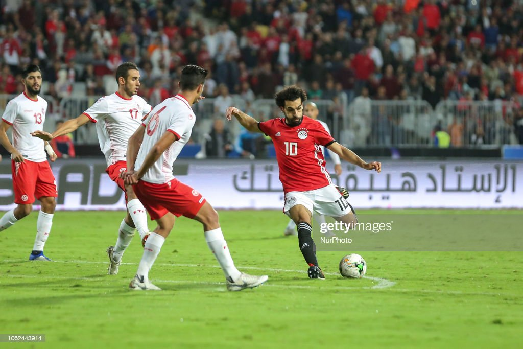 Egypt v Tunis - Africa Cup of Nations qualifier : News Photo