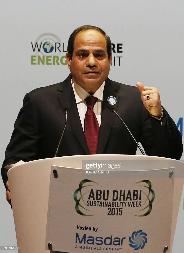 UAE-EGYPT-ENERGY-SUMMIT-SISI : News Photo